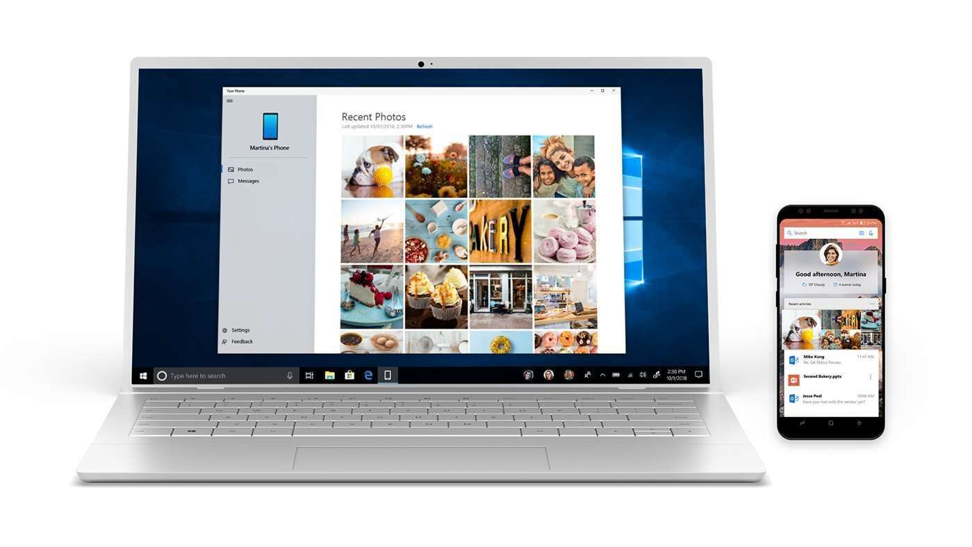 PC With Microsoft's Your Phone
