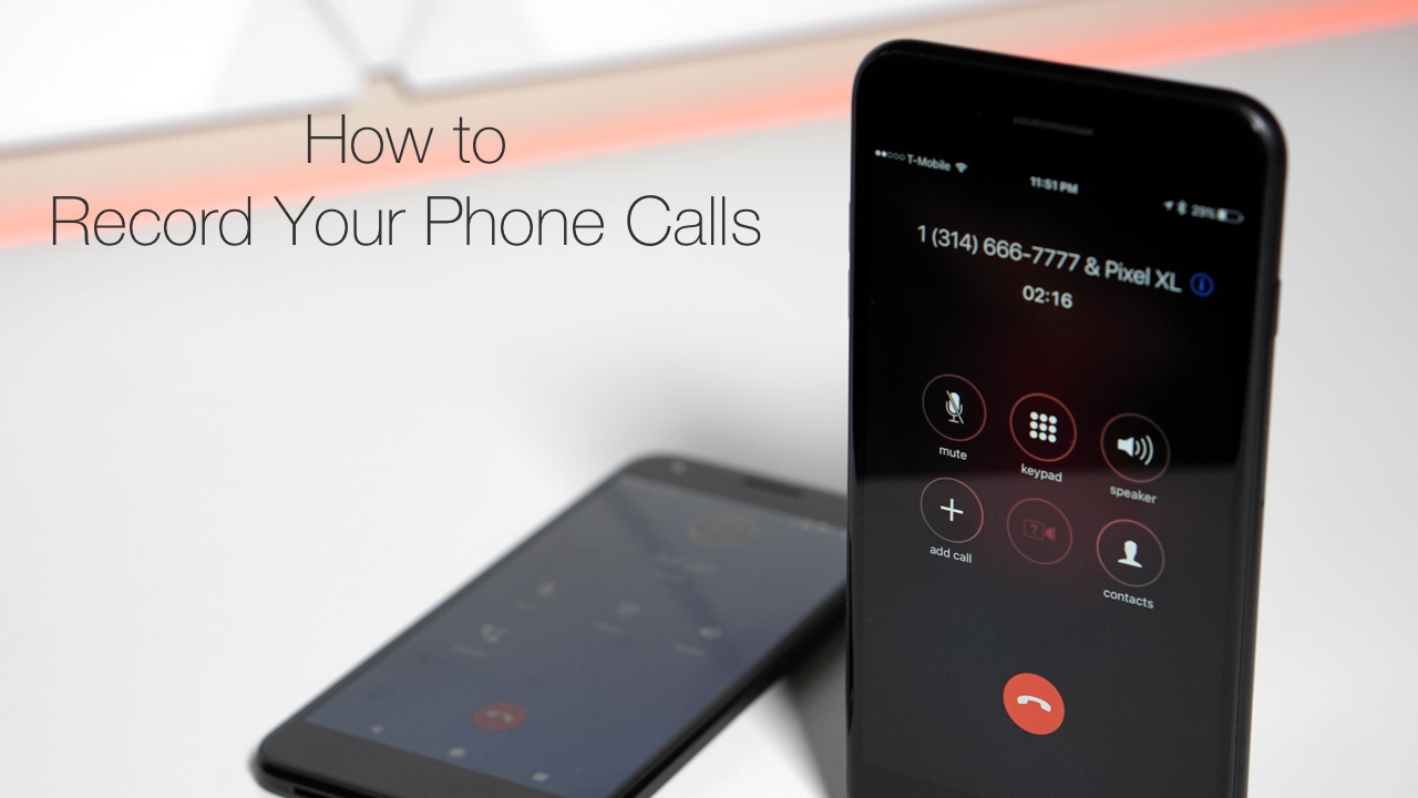 Record Calls On Your iPhone
