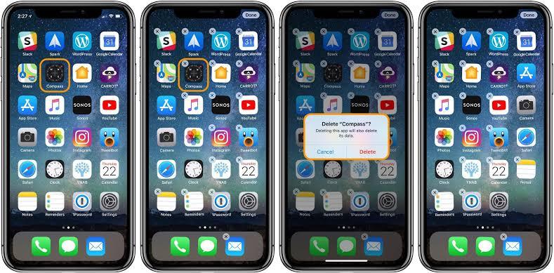 App on iphone