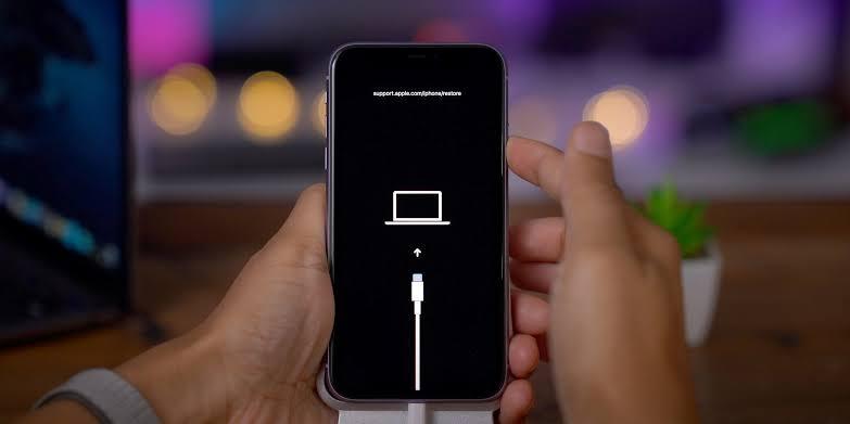 iPhone 11 DFU mode