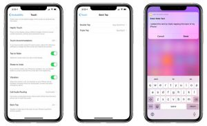 How to Use Back Tap on iPhone iOS 14