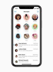 iOS 14 message app