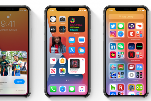 widget gallery in ios 14