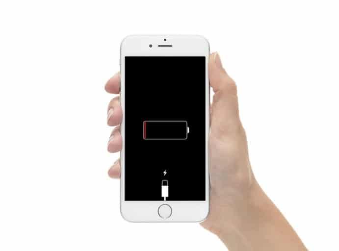 iPhone 6 stuck on charging screen