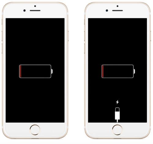 iPhone 8 stuck on charging screen