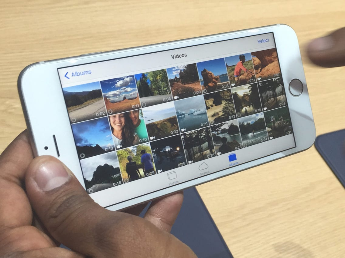 Make videos on iPhone