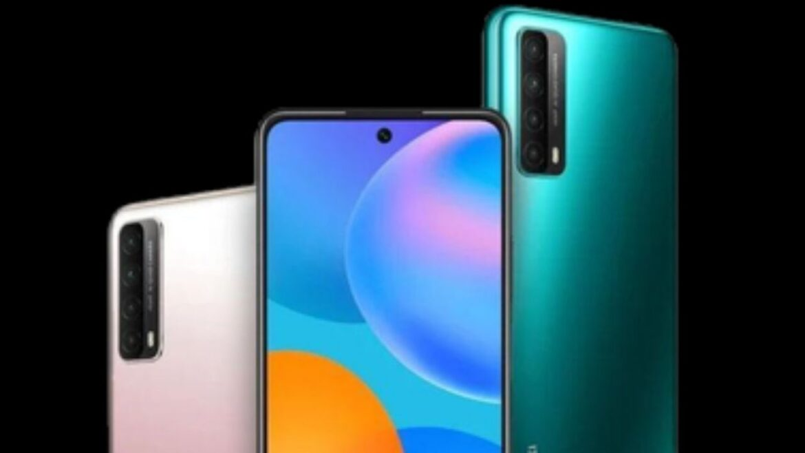 Play Store on Huawei P Smart 2021