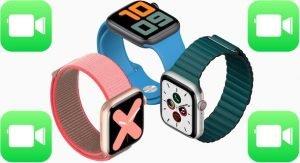 Facetime on Apple Watch