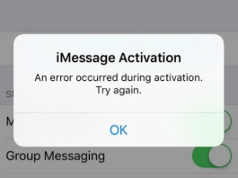 Fix iMessage is signed out error on iPhone