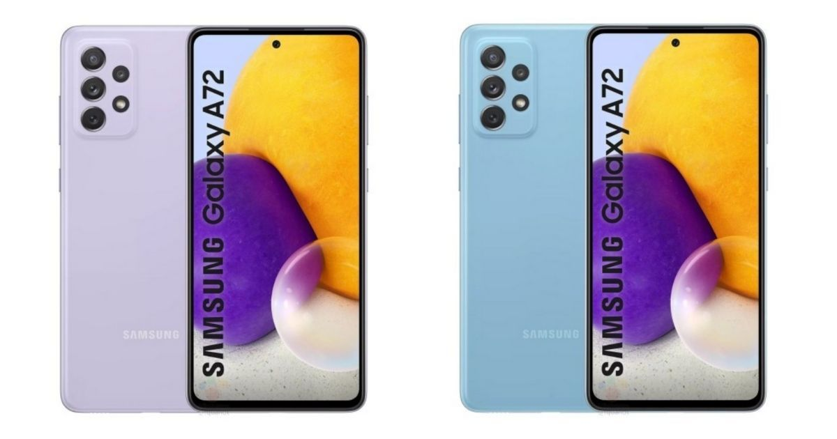 Samsung Galaxy A72 waterproof