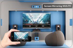 screen-mirror to TV