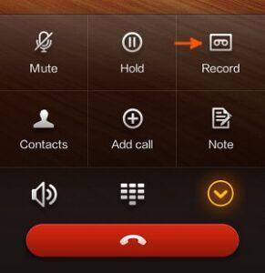 Record calls on Xiaomi