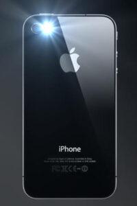iphone 8 flashlight